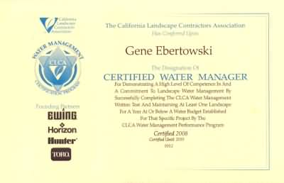 Certifiedwatermanager Opt